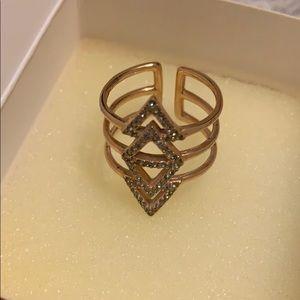 Stella and Dot Rosegold Ring